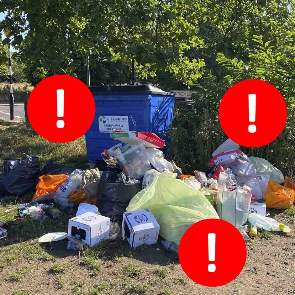 горы мусора и как это связано с типичными проблемами маркетинга